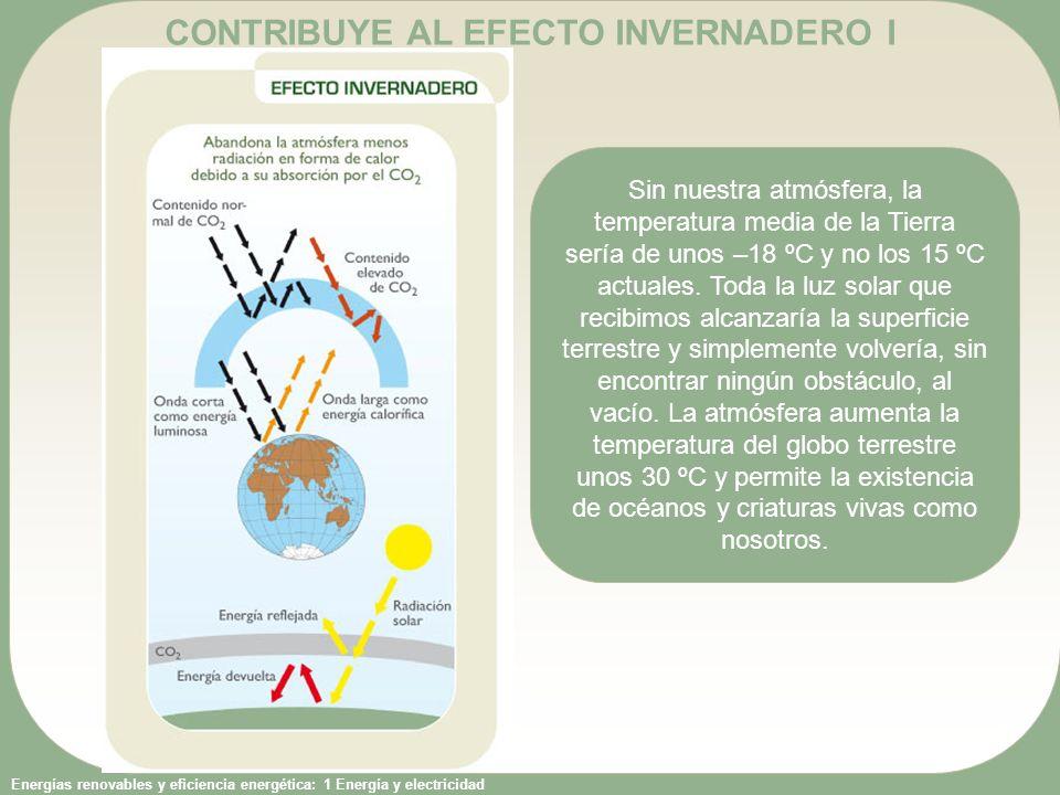CONTRIBUYE AL EFECTO INVERNADERO I