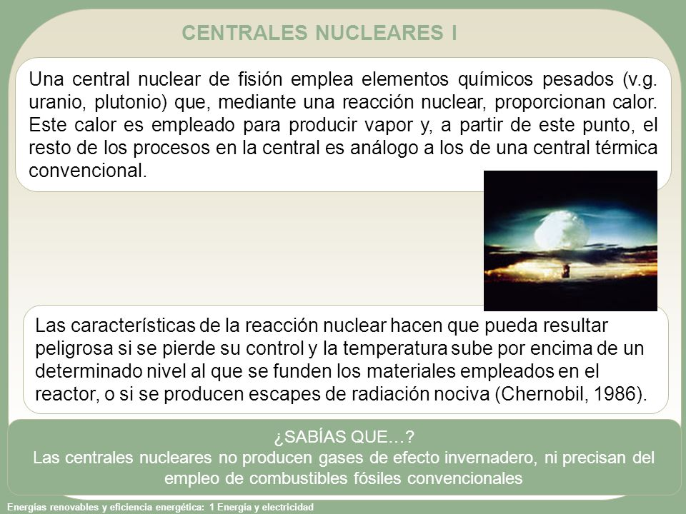 CENTRALES NUCLEARES I