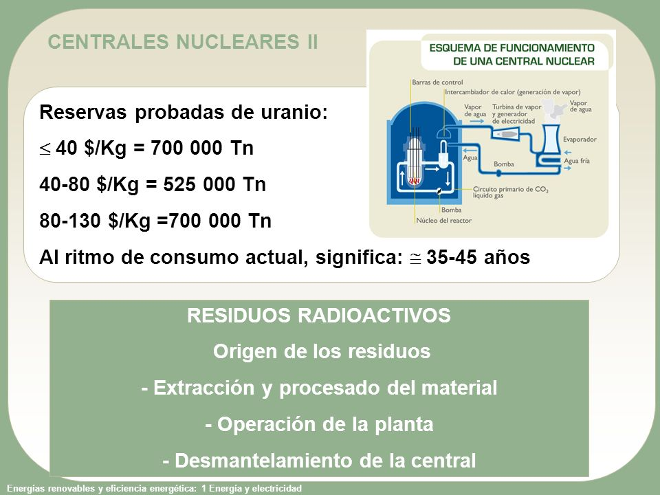 CENTRALES NUCLEARES II