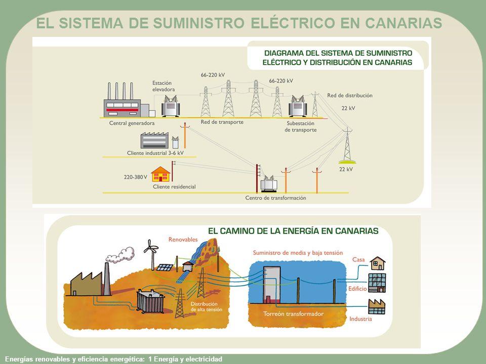 EL SISTEMA DE SUMINISTRO ELÉCTRICO EN CANARIAS