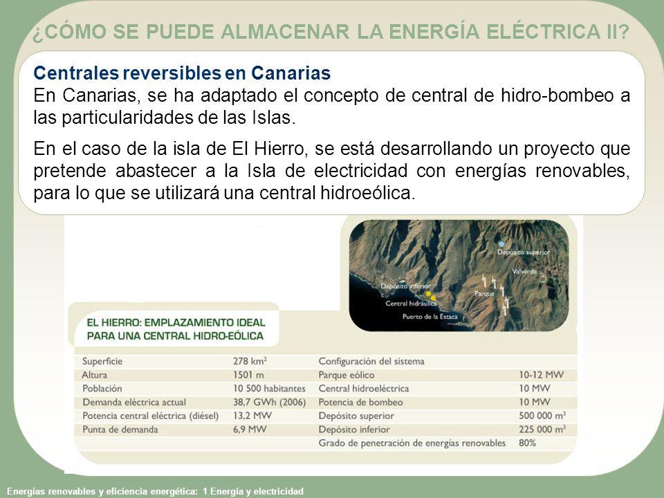 ¿CÓMO SE PUEDE ALMACENAR LA ENERGÍA ELÉCTRICA II