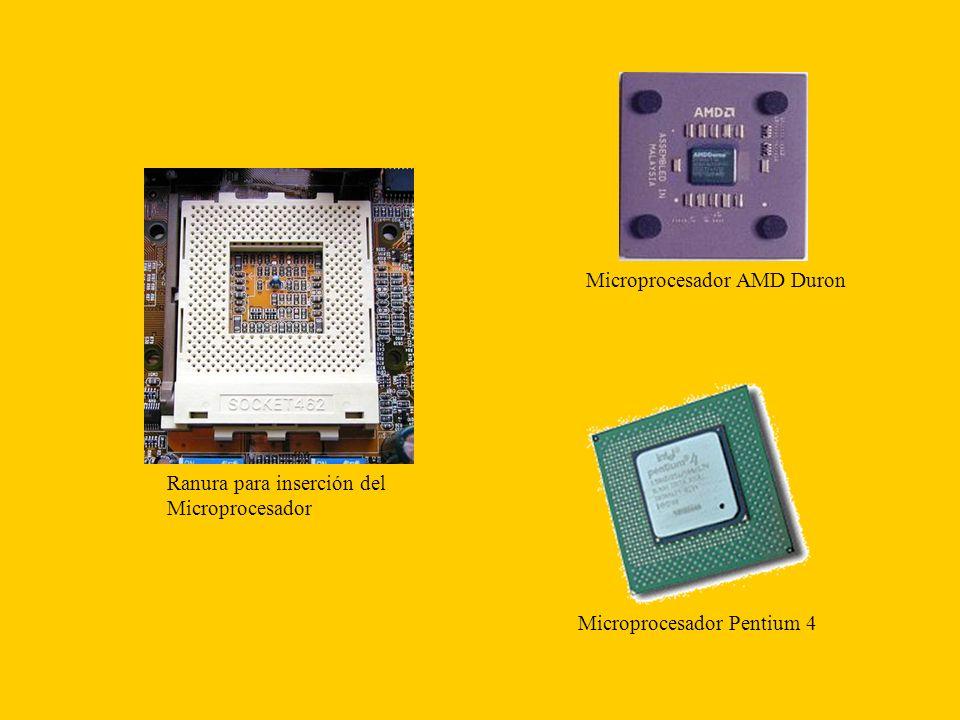 Microprocesador AMD Duron