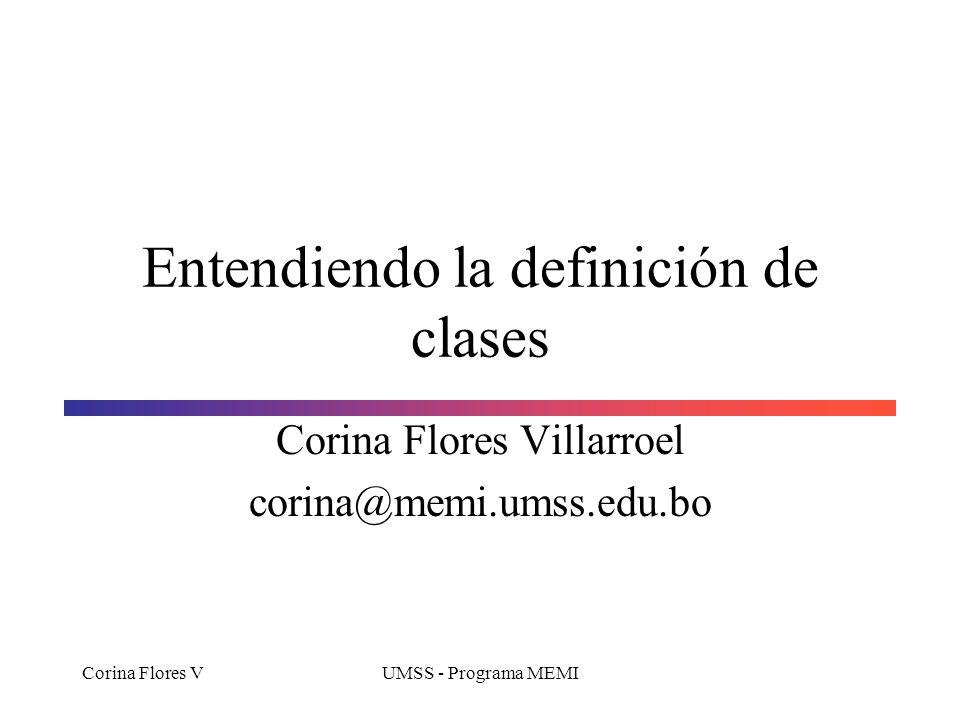 Entendiendo la definición de clases