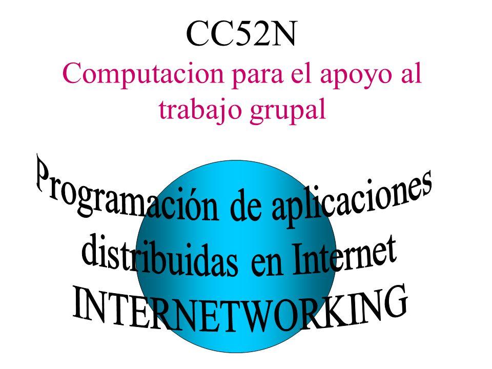 CC52N Computacion para el apoyo al trabajo grupal