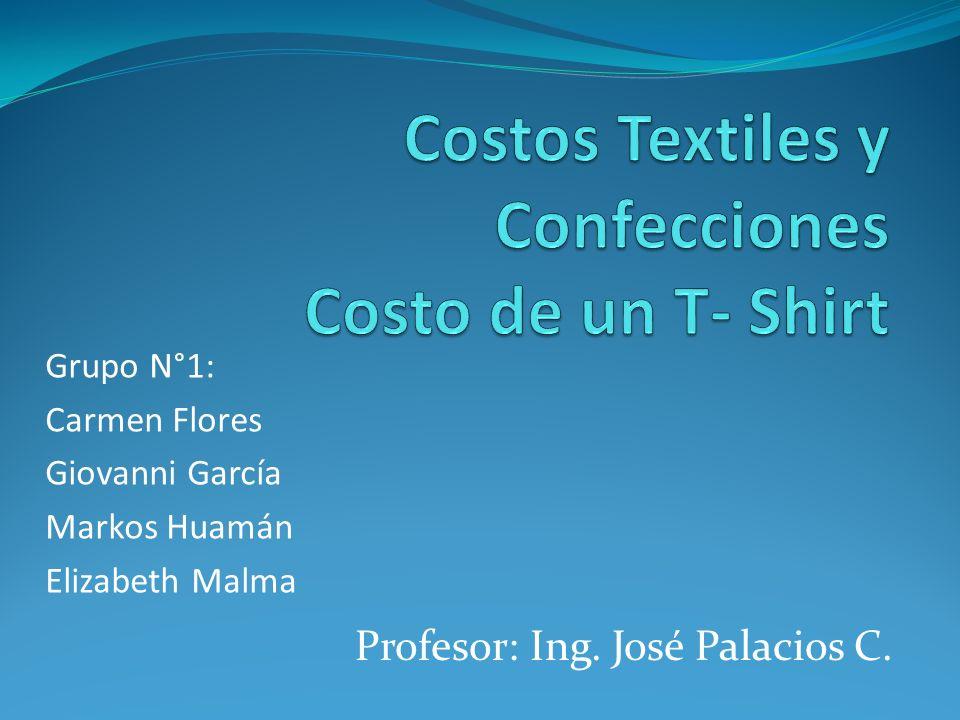 Costos Textiles y Confecciones Costo de un T- Shirt
