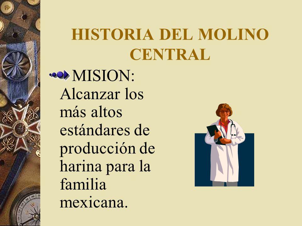 HISTORIA DEL MOLINO CENTRAL