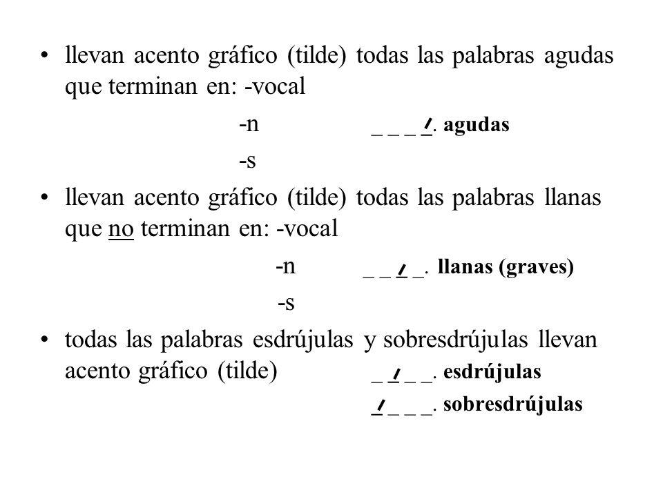-n _ _ _ _. llanas (graves)