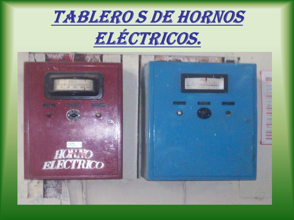 Tablero s de Hornos eléctricos.