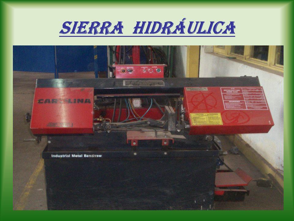sierra Hidráulica