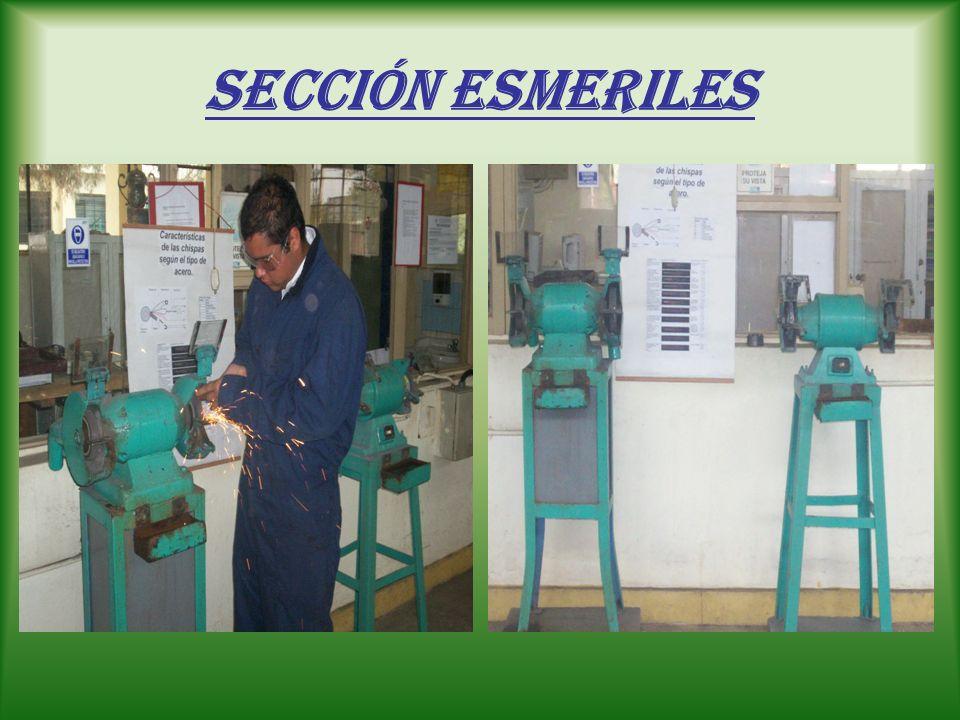 Sección Esmeriles