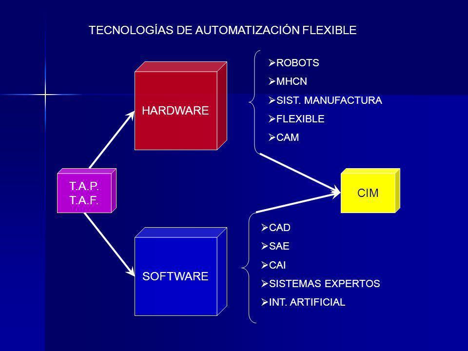 TECNOLOGÍAS DE AUTOMATIZACIÓN FLEXIBLE