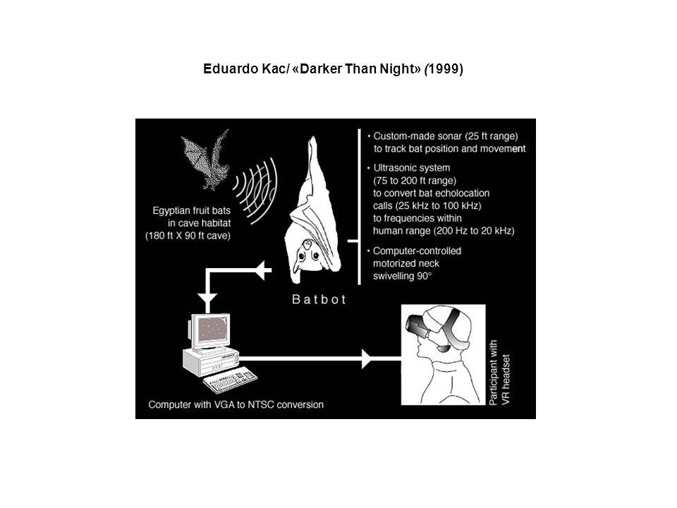 Eduardo Kac/ «Darker Than Night» (1999)