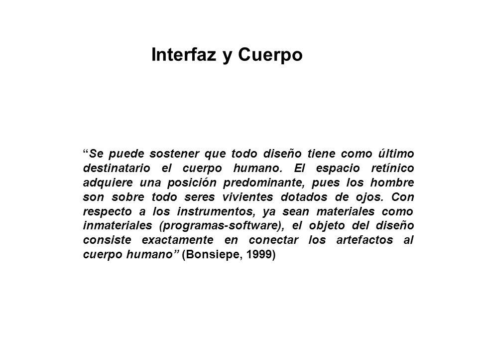 Interfaz y Cuerpo