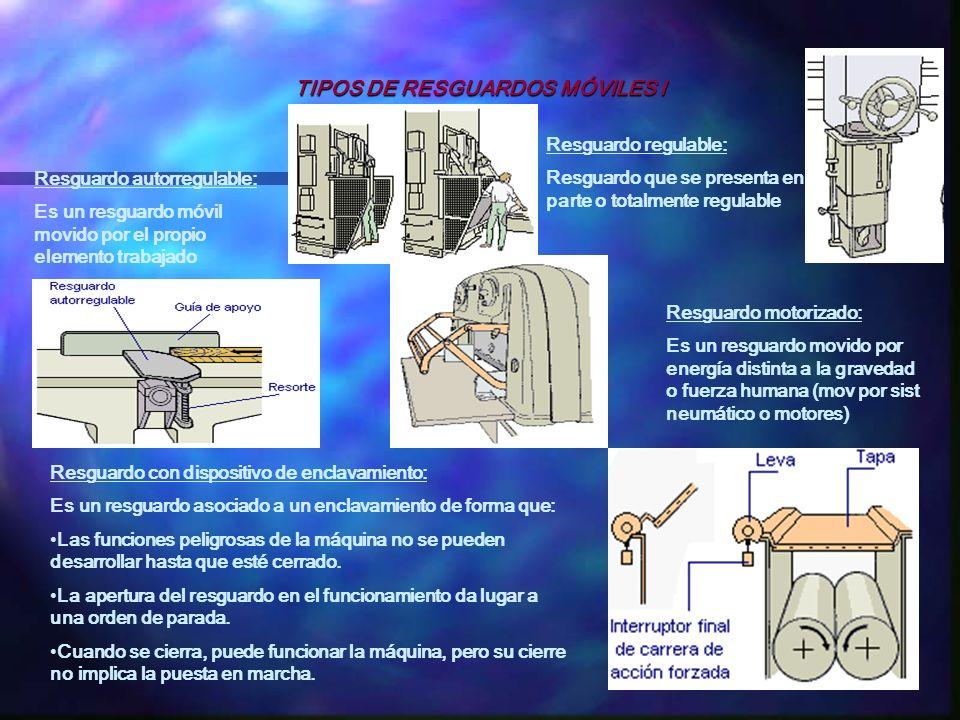 TIPOS DE RESGUARDOS MÓVILES I