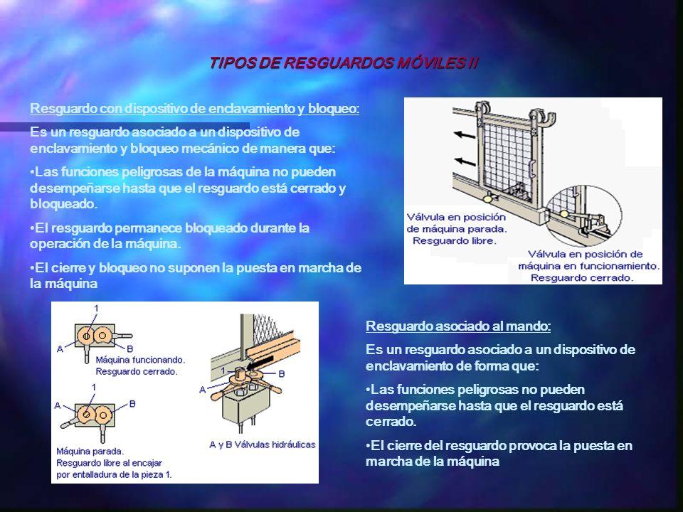 TIPOS DE RESGUARDOS MÓVILES II