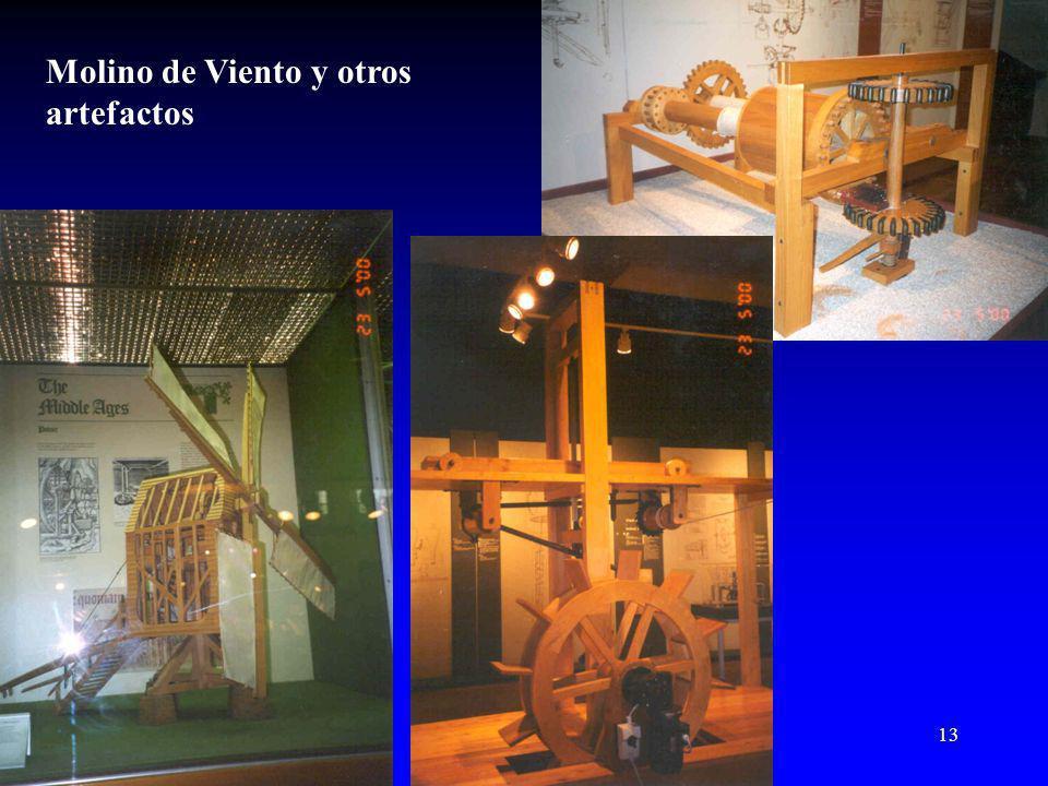 Molino de Viento y otros artefactos