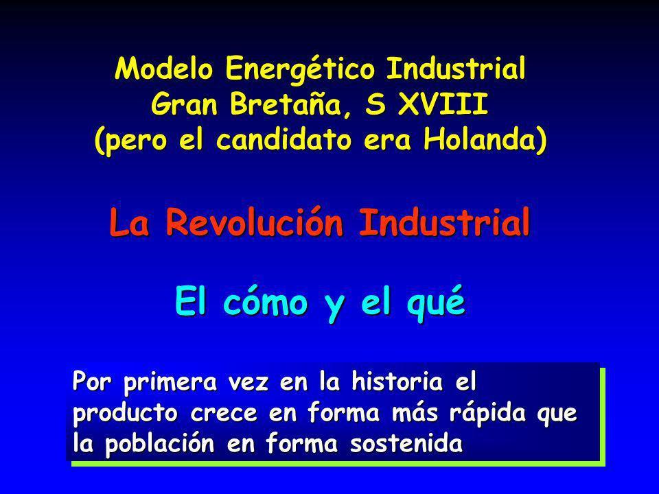 La Revolución Industrial El cómo y el qué
