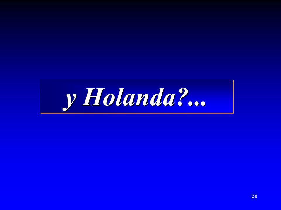 y Holanda ...
