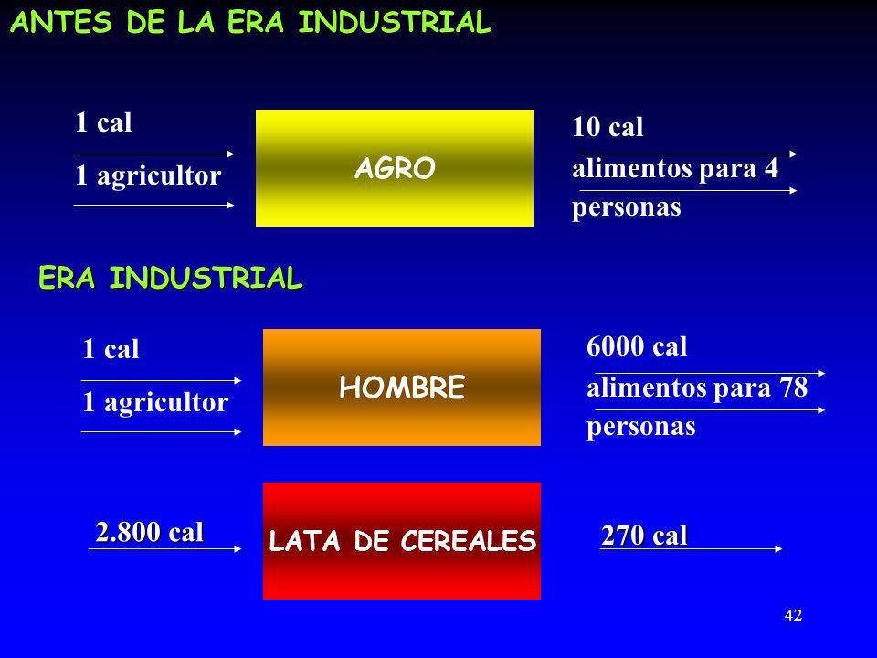 ANTES DE LA ERA INDUSTRIAL