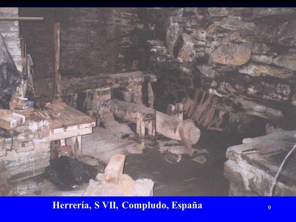 Herrería, S VII, Compludo, España
