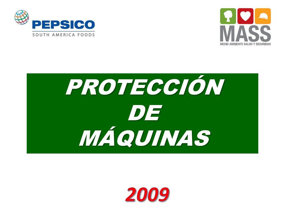 PROTECCIÓN DE MÁQUINAS 2009
