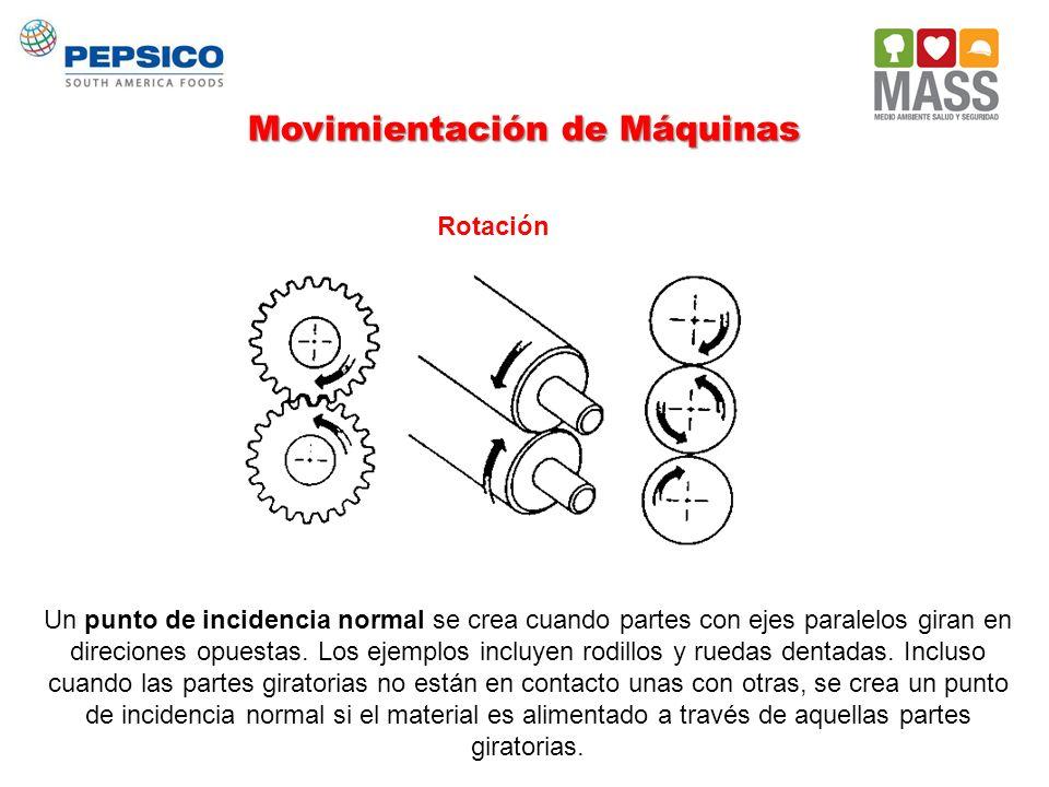 Movimientación de Máquinas
