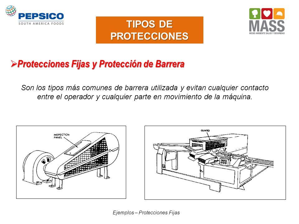 Protecciones Fijas y Protección de Barrera