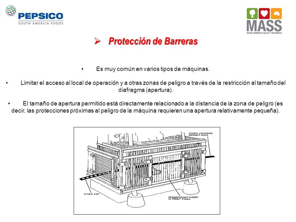 Protección de Barreras
