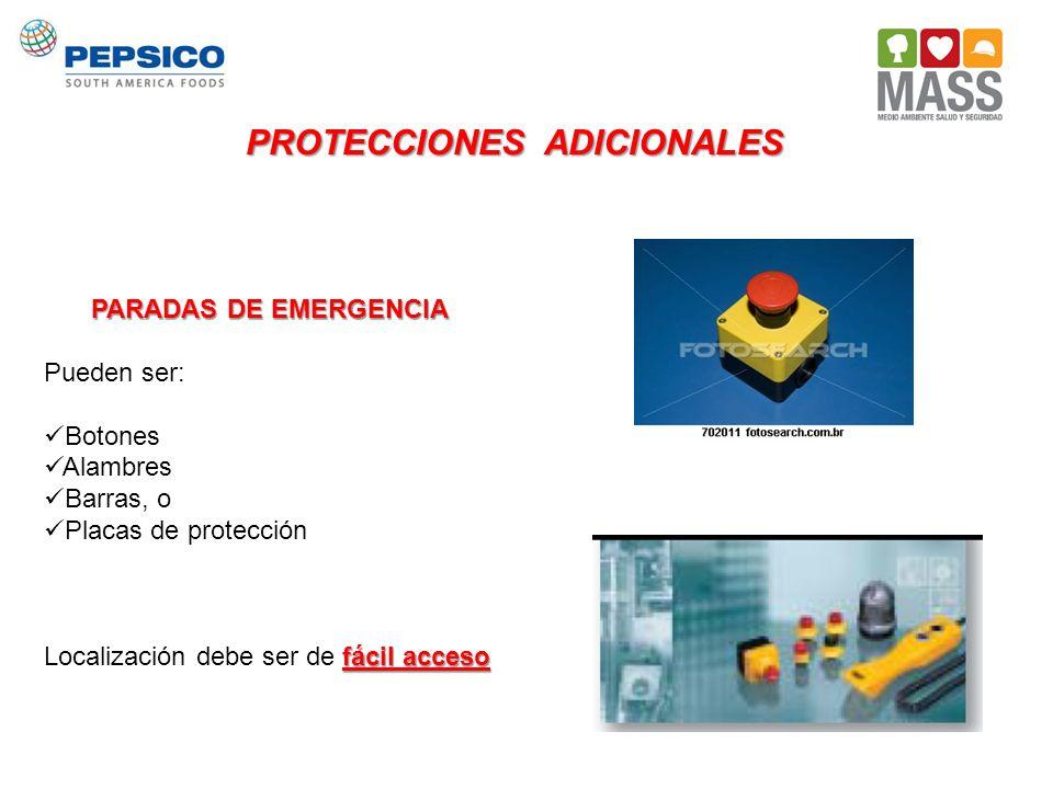 PROTECCIONES ADICIONALES