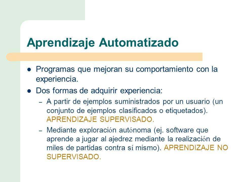 Aprendizaje Automatizado