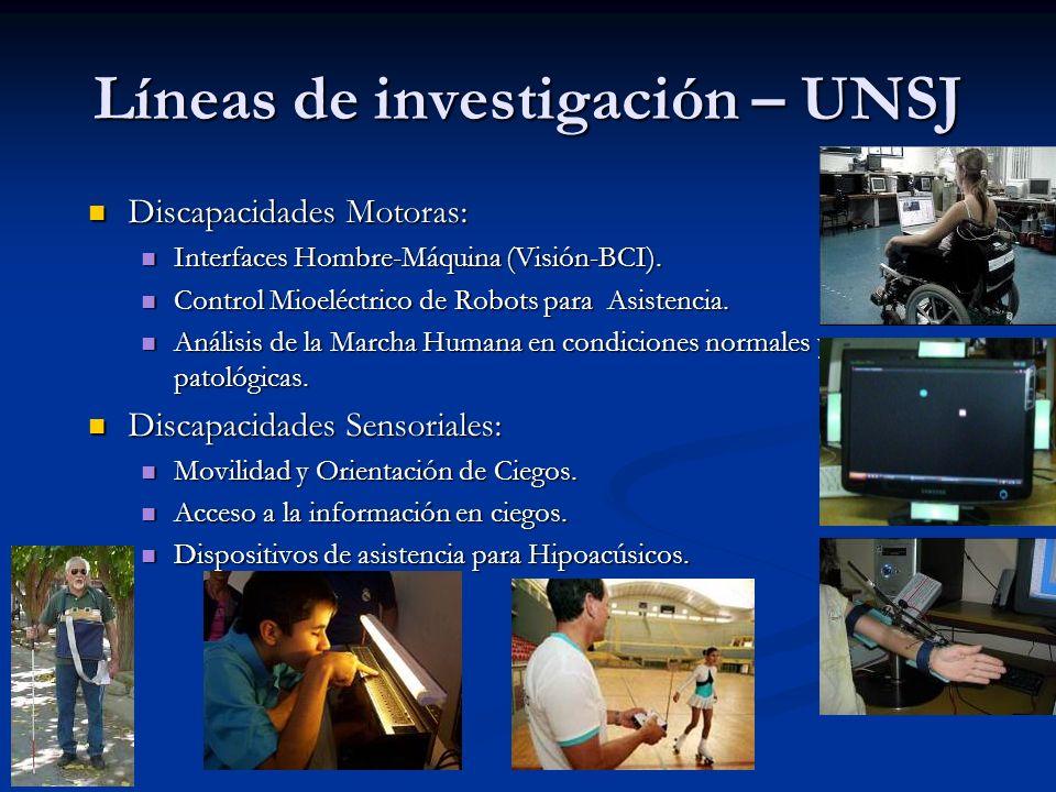 Líneas de investigación – UNSJ