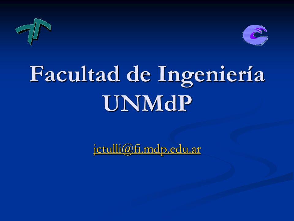 Facultad de Ingeniería UNMdP