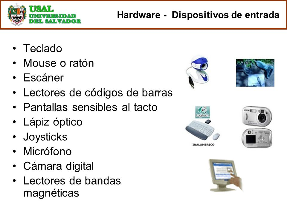 Hardware - Dispositivos de entrada