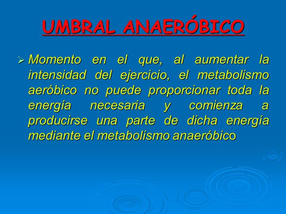 UMBRAL ANAERÓBICO