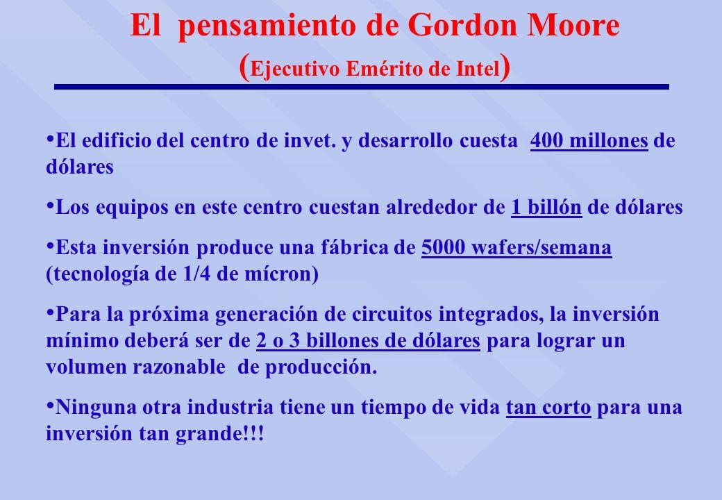 El pensamiento de Gordon Moore (Ejecutivo Emérito de Intel)