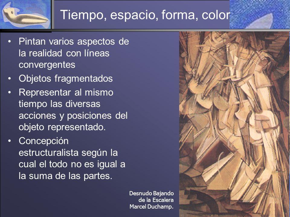 Tiempo, espacio, forma, color