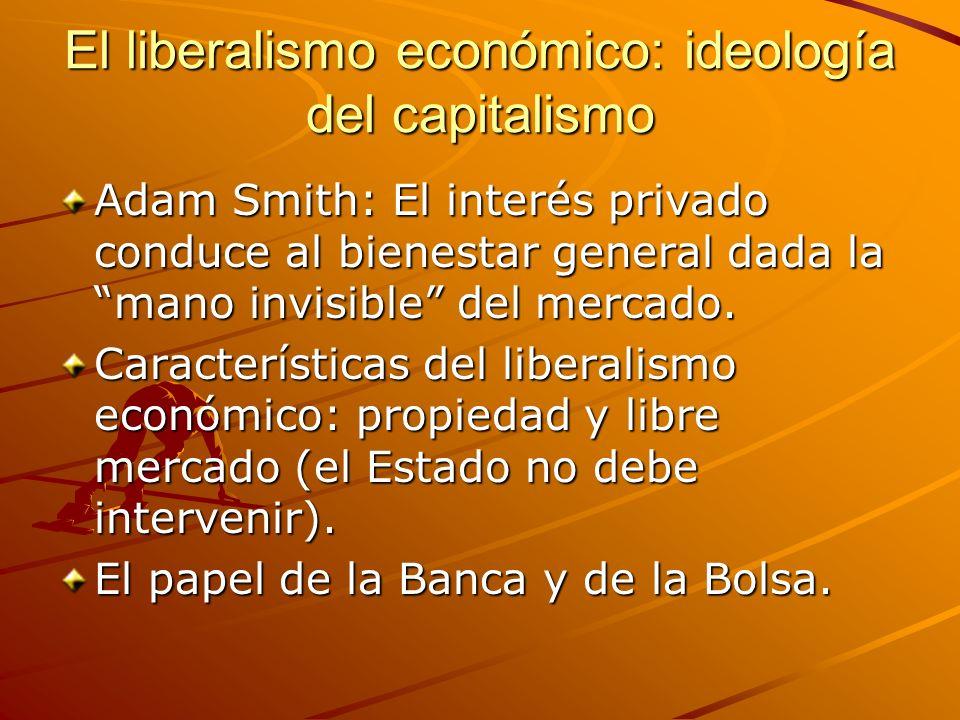 El liberalismo económico: ideología del capitalismo