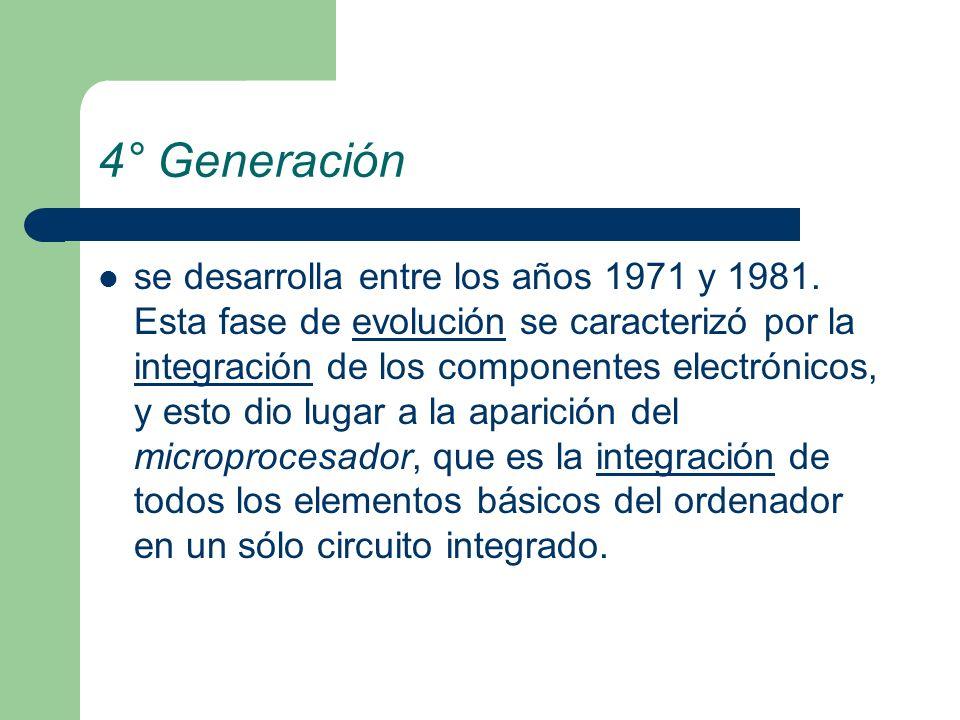 4° Generación