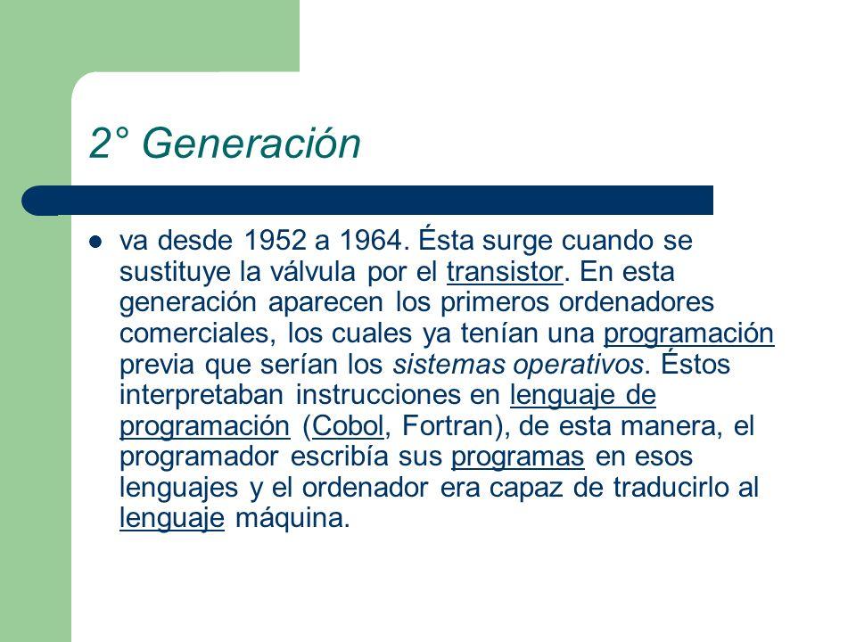 2° Generación