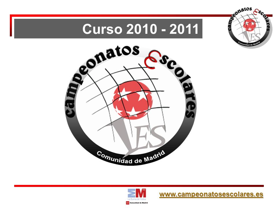 Curso 2010 - 2011