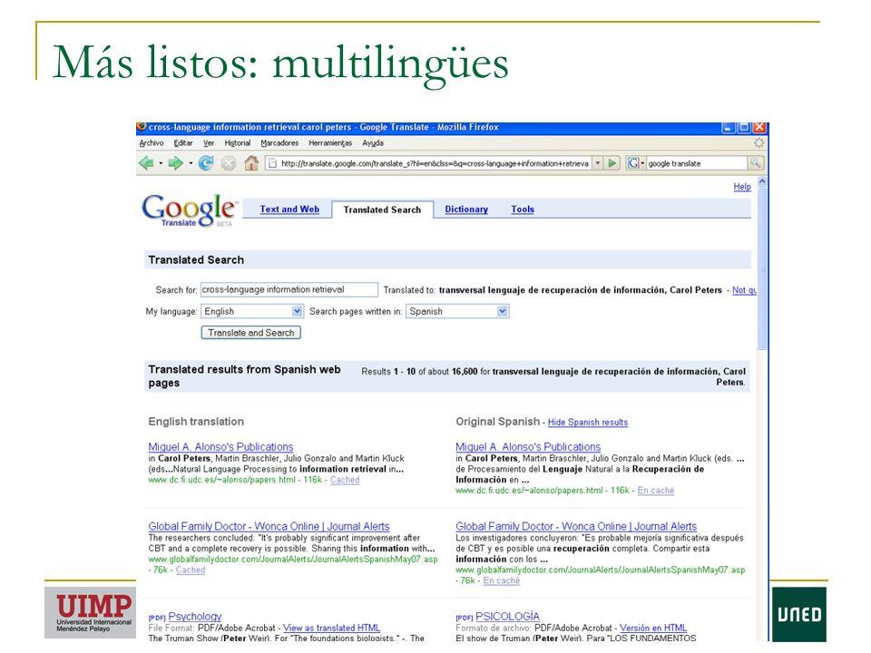 Más listos: multilingües