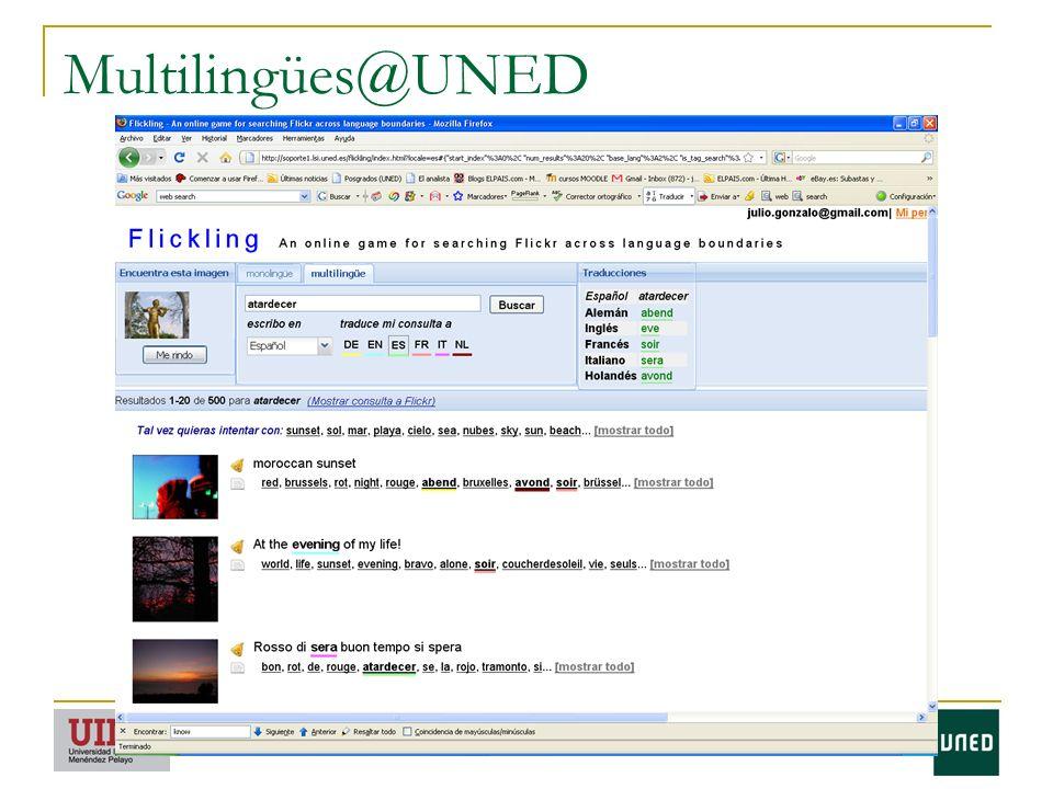 Multilingües@UNED