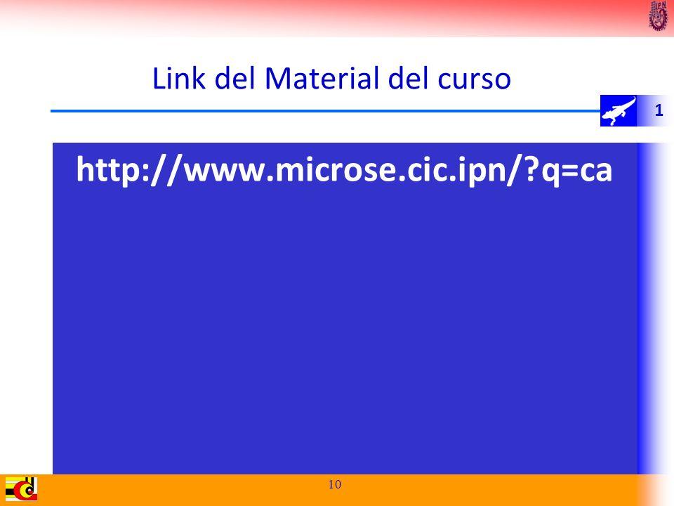 Link del Material del curso