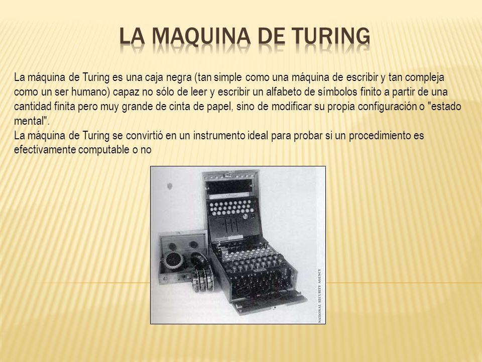 La maquina de turing la m quina de turing es una caja for Como echar gotele sin maquina
