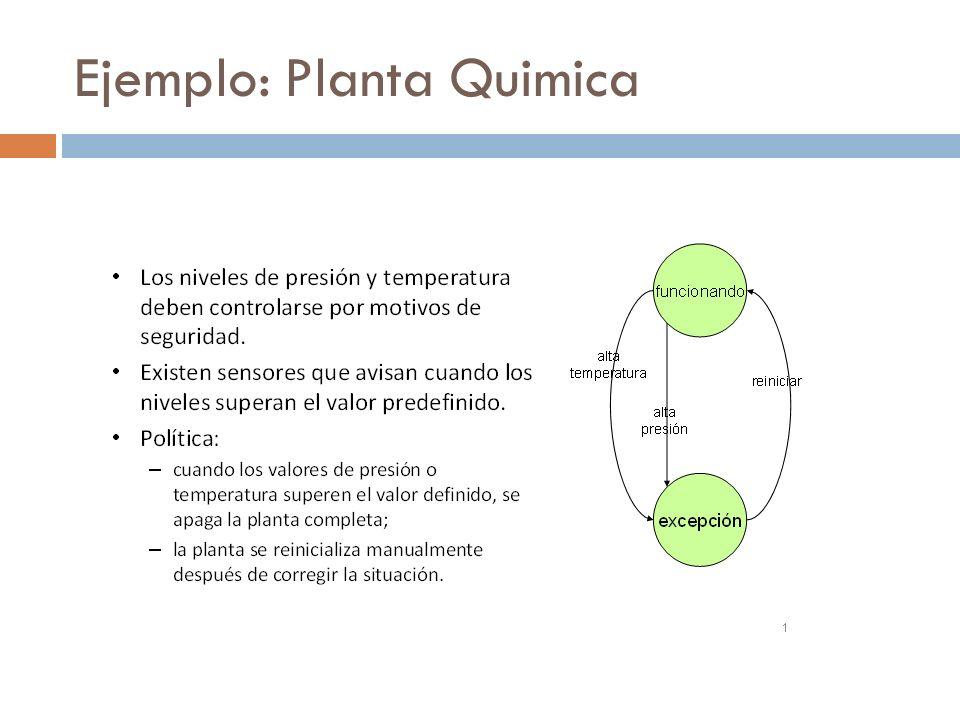 Ejemplo: Planta Quimica