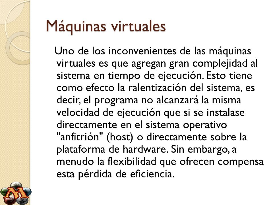 Máquinas virtuales