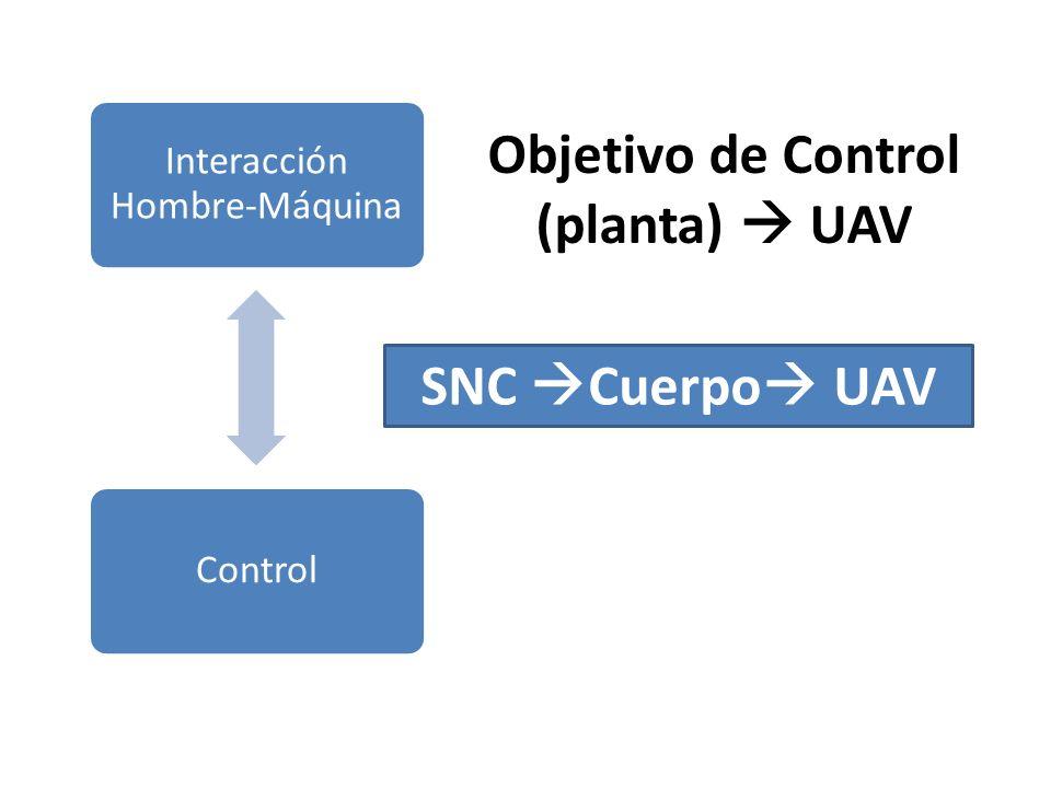 Objetivo de Control (planta)  UAV