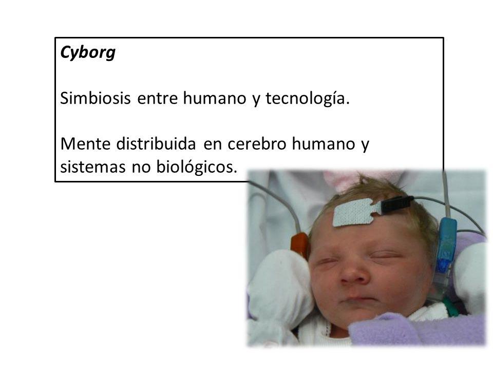 Cyborg Simbiosis entre humano y tecnología.