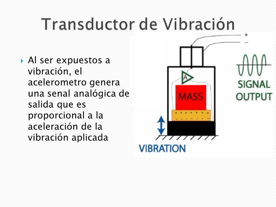 Transductor de Vibración