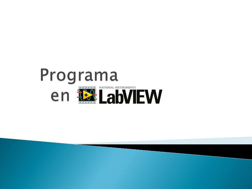 Programa en LABVIEW